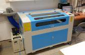 Introducción a la MakerSpace SLO 100 vatios láser cortador y grabador