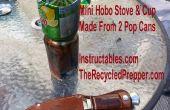 Supervivencia de reciclado Hobo mini estufa y copa gratis