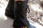 Botas de combate del Light-Up