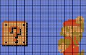 Patrón de punto de Cruz en photoshop (con símbolos!)