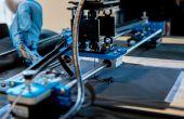 Hacer un Plotter plegable que imprime circuitos en Textiles
