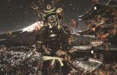 Samurai de Sintra: Cosplay con láminas de PVC