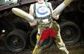 Épica sesión de tanque chica Cosplay/fotos