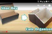 Cambiar una caja en un lindo organizador del zapato de