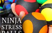 Cómo hacer bolas de estrés Ninja
