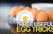 3 trucos de huevo útil