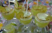 Hacer un jugo de limón/menta helada de verano