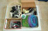 Cómo organizar mi colección de alambre (y donde se encuentra cada clase)
