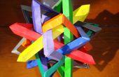 Las matemáticas y el arte en Origami - como hacer tramas geométricas