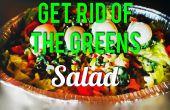 ¡ Deshazte de la ensalada de verdes!