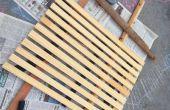 Reciclado madera ducha Mat