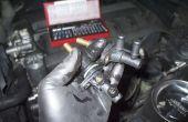 Sustituir termostato auxiliar en BMW E34