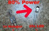 Convertir su lámpara halógena de escritorio en una lámpara de LED
