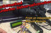 Automatizado de intervalómetro de un disparador barato Cable