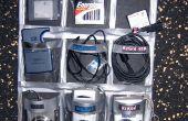 Organizador de la electrónica de NoSew USB