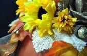 Elegante Floral calabaza