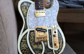 Crear una etiqueta de guitarra Steampunk 3D