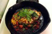 Al horno pechuga de pavo queso parmesano