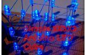 Simple 3 x 3 x 3 LED cubo con Arduino