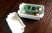 Registrador de Arduino BLE temperatura/humedad con pantalla DHT11 y iOS