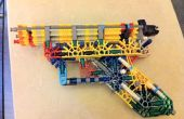 "DJ ""El Blueprint."" de la Radio - K'Nex Simple principiante pistola."