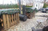 Barril de bricolaje estufa horno al aire libre