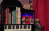¿Tamaño de escritorio Grand Piano estantería