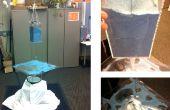 Cimática de arte: Un dispensador de arena de detección y vibrante sonida placa