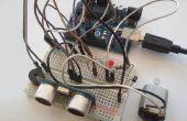 Evita el obstáculo con Sensor ultrasonido HC-SR04