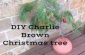 Charlie Brown árbol de Navidad hechos en casa