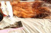 Cómo fácilmente teñir su pelo rojo / burdeos