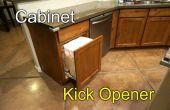 Abridor de gabinete - Kick a abrir
