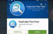 Eliminar archivos duplicados de Android