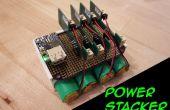 Poder apilador: Sistema de batería recargable USB apilable