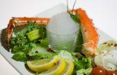 Gastronomía molecular - espuma de ajo