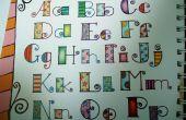 La caligrafía moderna