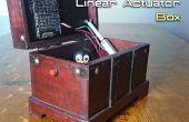 Automáticamente la apertura / cierre de una caja con un actuador lineal y Arduino
