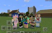 Cómo hacer tu propio Minecraft PE piel!