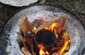 Aluminio puede horno