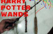 Como hacer varitas de Harry Potter
