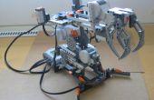 ¿Cómo construir un simple brazo robótico de Lego Mindstorms NXT?