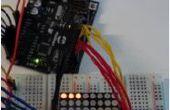 Pong de LED 8 x 8 con Arduino