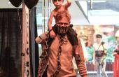 Mad Max y guerra niño Nux traje de hijo de padre