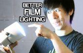3 pasos para mejor iluminación de la película