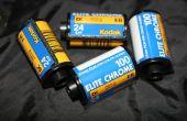 Desarrolle la película diapositiva con químicos C-41 AKA E-6(-)