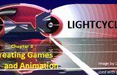 Creación de animación y juegos: Capítulo 3 Lightcycles