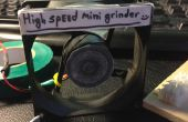 Alta velocidad Mini amoladora :)