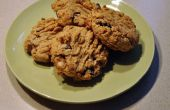 Deliciosa manteca de cacahuete Chocolate Chip Cookies
