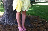 Falda de girasol