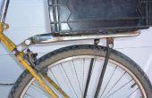 De la bicicleta posterior del bastidor